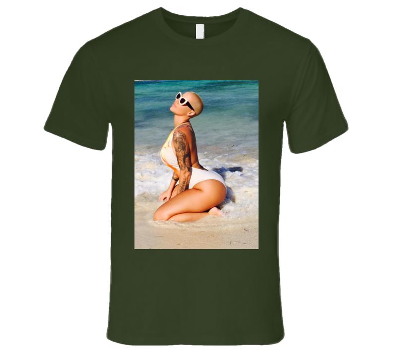 Amber Rose Bikini Beach Trendy Muva Funny T Shirt