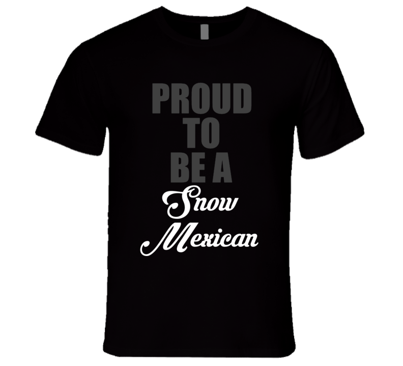 Snow Mexican Canada Canadian Donald Trump President Funny T Shirt