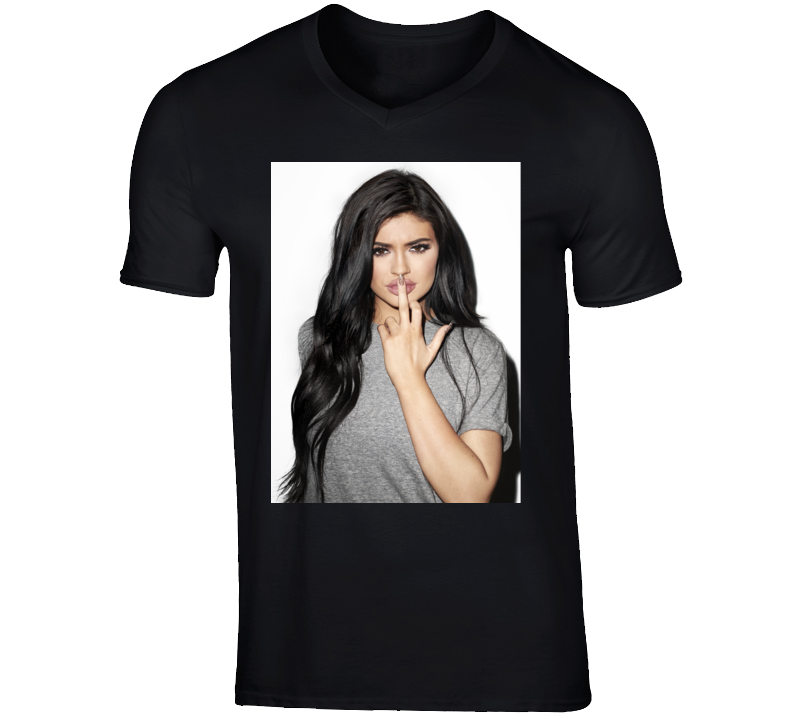 Kylie Jenner Photo Shoot Pregnant Kardashian Trendy Funny T Shirt