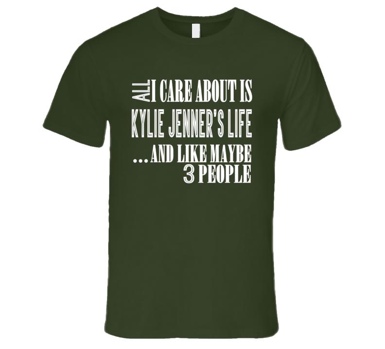 Kylie Jenner Cosmetics Kardashian Pregnant Trendy Funny T Shirt