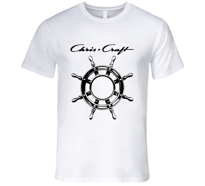 Chris Craft Boating Boat Water Funny T Shirt