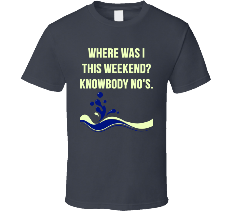 Boating Funny T Shirt