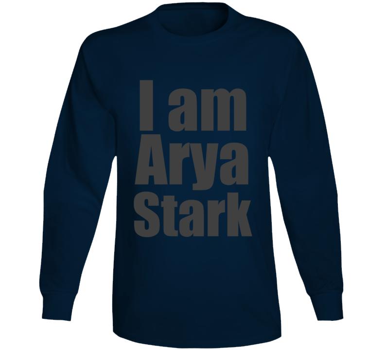 Arya Stark Game Of Thrones Tv Series Funny  Long Sleeve