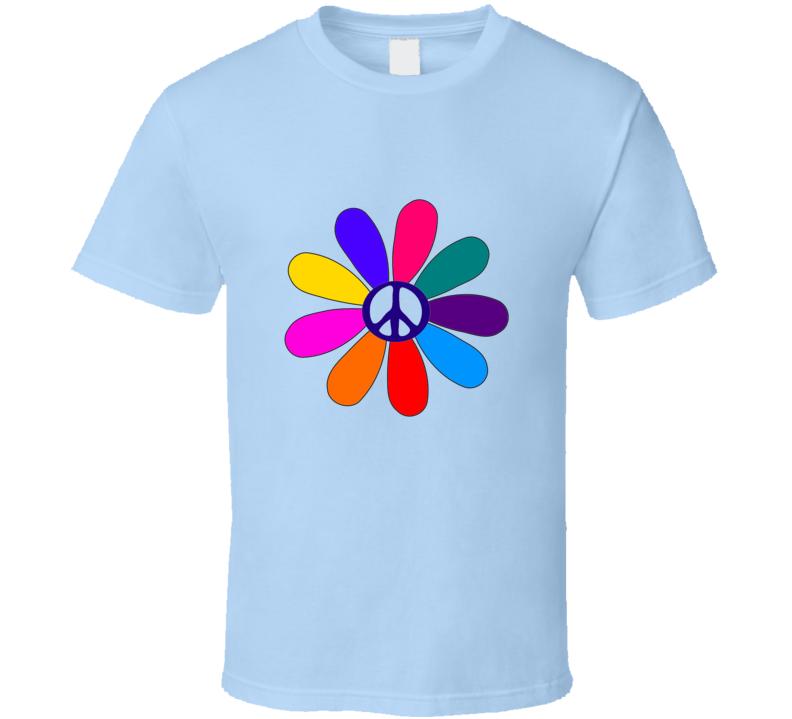 Peace Flower T Shirt