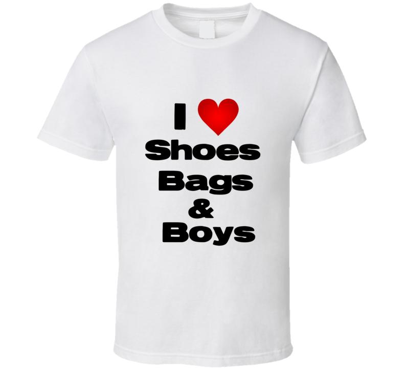 I love Shoes Bags & Boys Paris Hilton T Shirt