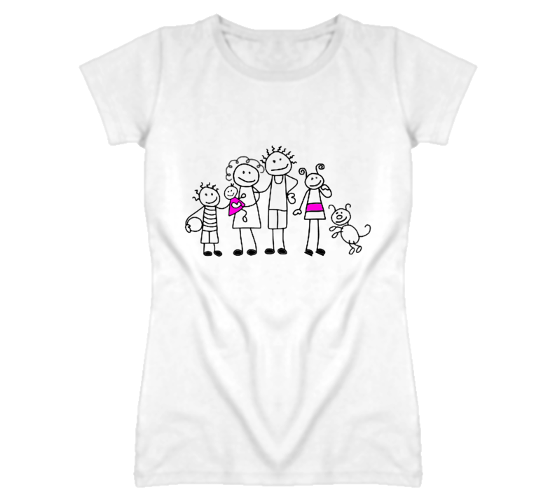 Stick Family #1 T Shirt