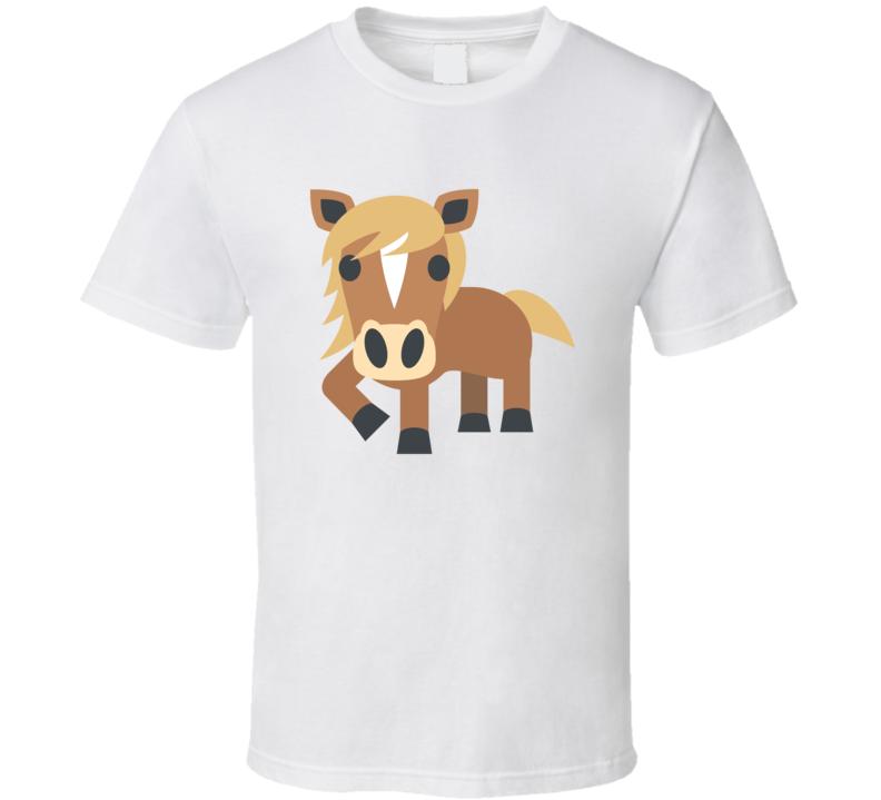 Horse Emoji Popular Shirt