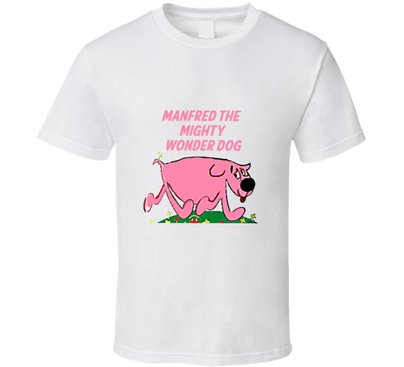 Captain Kangaroo Tom Terrific Manfred The Mighty Wonder Dog Retro T Shirt