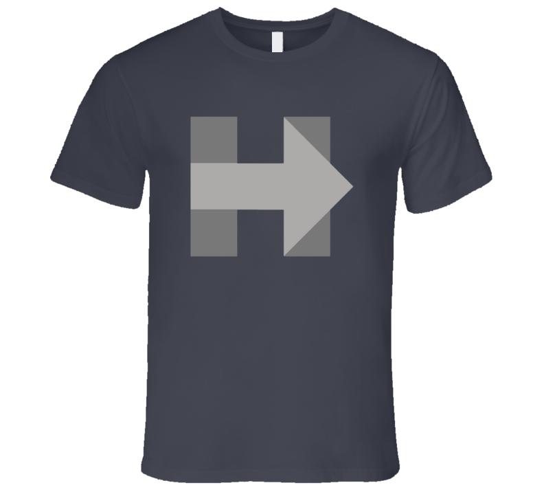 Hillary Clinton Campaign Logo Grey Presidential T Shirt