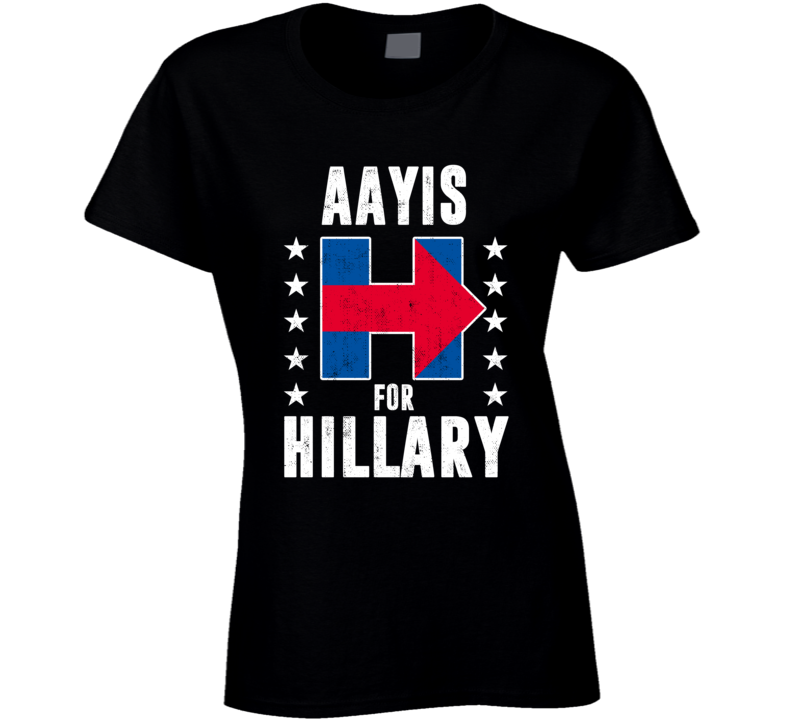 Aayi Marathi Mom For Hillary Clinton President Election 2016 T Shirt