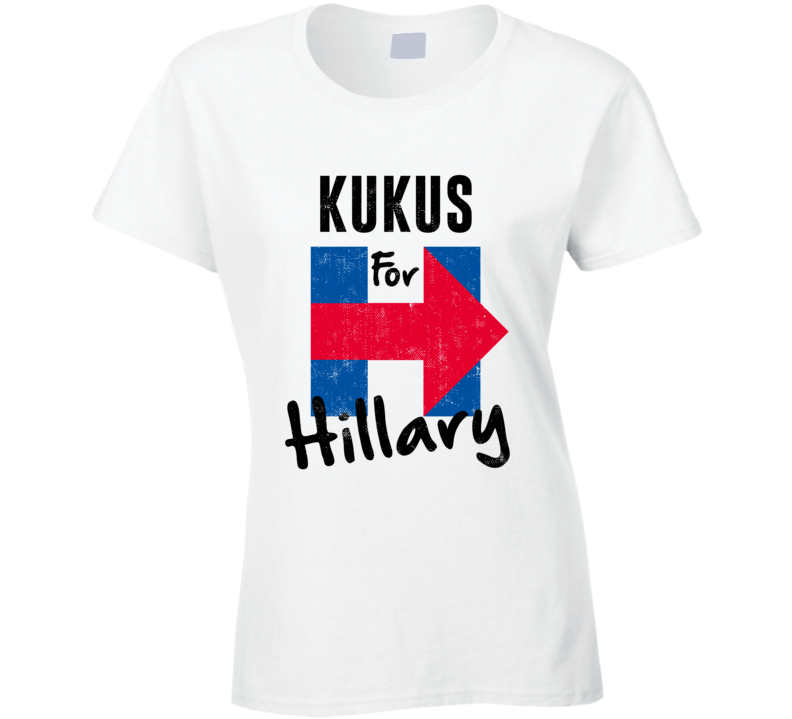 Kuku Hawaiian Grandmother For Hillary Clinton President Election T Shirt