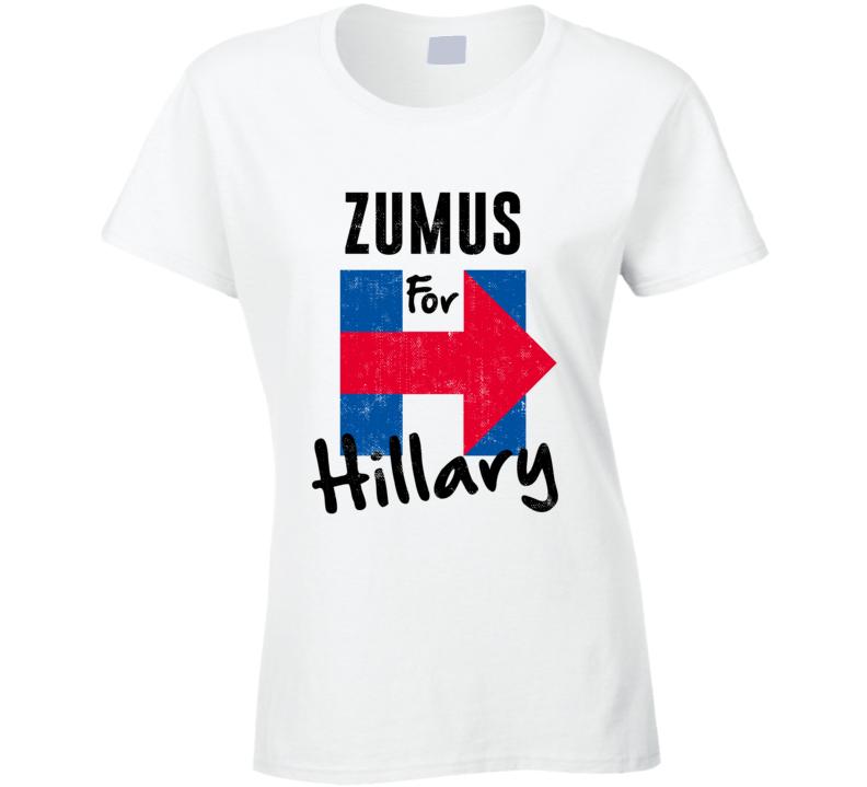 Zumu Chinese Mandarin Grandmother For Hillary Clinton President Election T Shirt