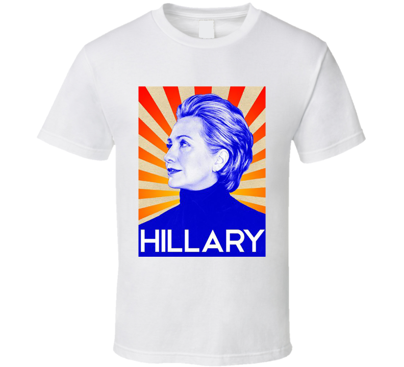 Hillary Clinton Soviet Style Poster 2016 Presidential Campaign T Shirt