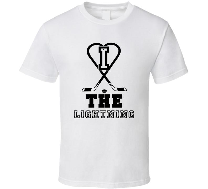 I Heart The Tampa Bay Hockey Team T Shirt