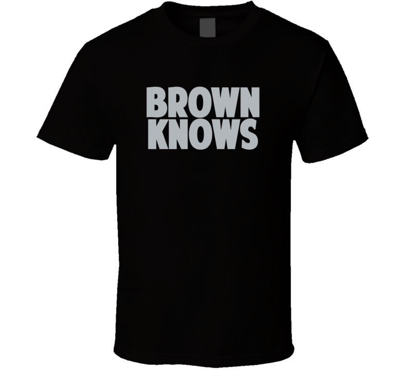 Dustin Brown Knows Los Angeles Hockey Player Sports Fan T Shirt