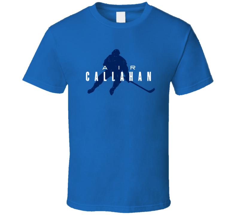 Air Ryan Callahan Tampa Bay Hockey Funny Player Parody Fan T Shirt