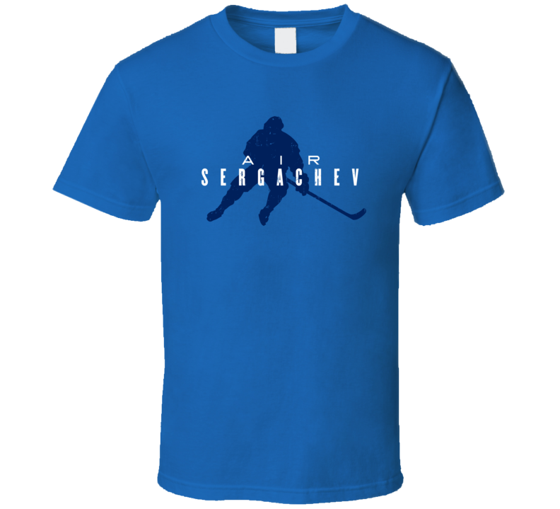 Air Mikhail Sergachev Tampa Bay Hockey Funny Player Parody Fan T Shirt