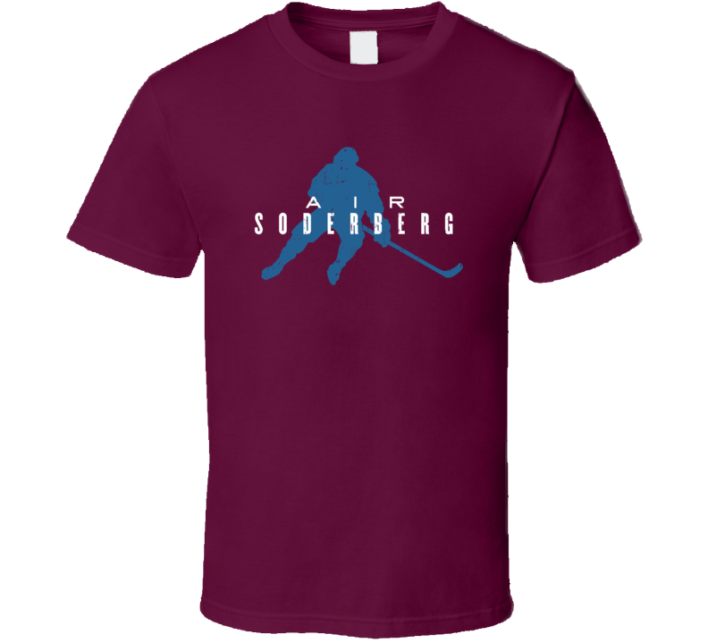 Air Carl Soderberg Colorado Hockey Funny Player Parody Fan T Shirt