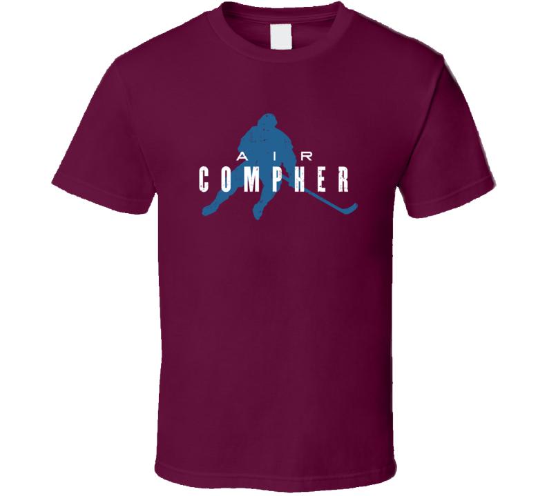 Air J.t. Compher Colorado Hockey Funny Player Parody Fan T Shirt