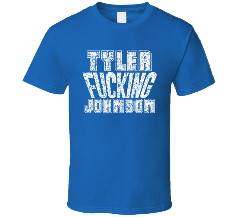 Tyler Fcking Johnson Tampa Bay Hockey Player Sports Fan Cool T Shirt