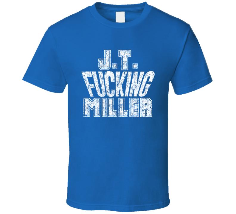 J.t. Fcking Miller Tampa Bay Hockey Player Sports Fan Cool T Shirt