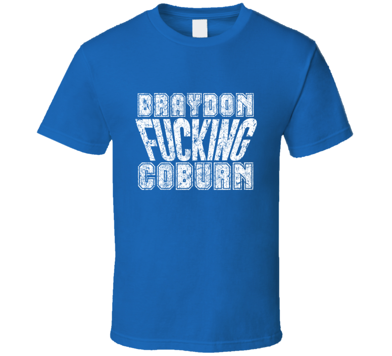 Braydon Fcking Coburn Tampa Bay Hockey Player Sports Fan Cool T Shirt