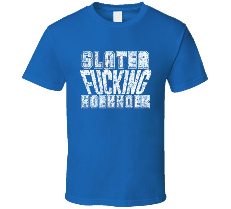 Slater Fcking Koekkoek Tampa Bay Hockey Player Sports Fan Cool T Shirt