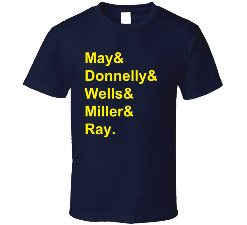 May Donnelly Wells Miller Ray 1991 Buffalo Hockey Goon T Shirt
