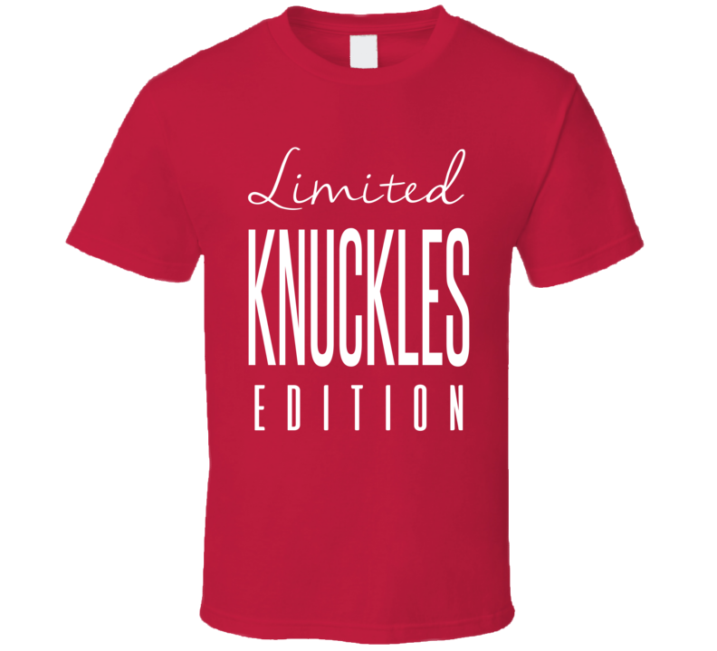 Chris Nilan Knuckles Limited Edition Montreal Enforcer Hockey T Shirt