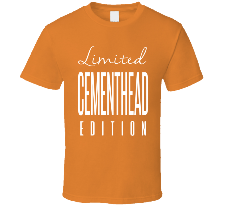 Dave Semenko Cementhead Limited Edition Edmonton Enforcer Hockey T Shirt