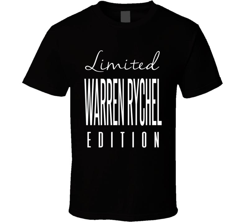 Warren Rychel Limited Edition Los Angeles Enforcer Hockey T Shirt