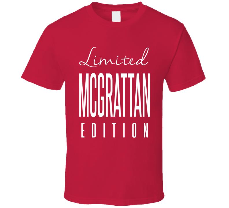 Brian McGrattan Limited Edition Ottawa Enforcer Hockey T Shirt