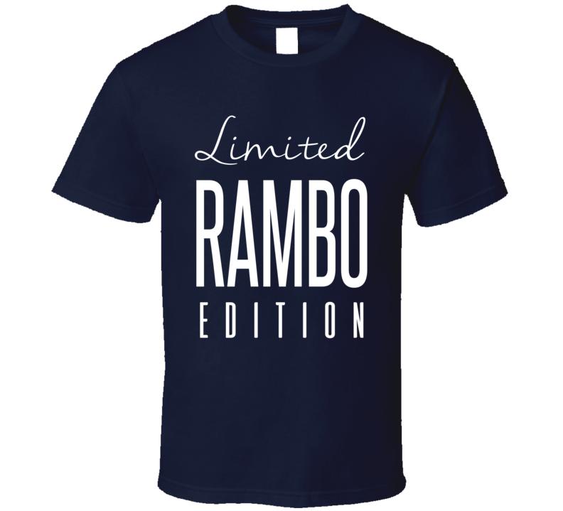 John Kordic Rambo Limited Edition Toronto Enforcer Hockey T Shirt