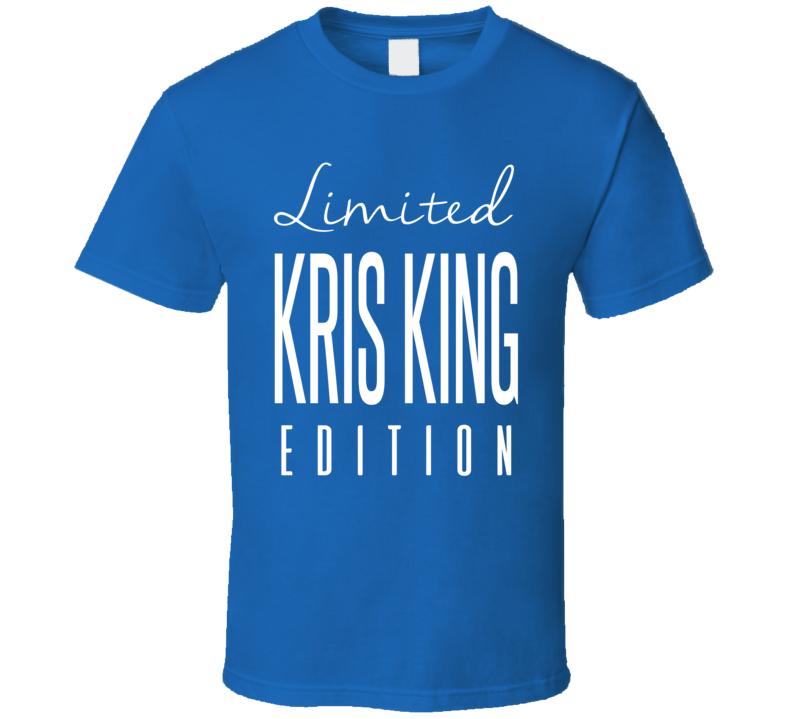 Kris King Limited Edition Winnipeg Enforcer Hockey T Shirt
