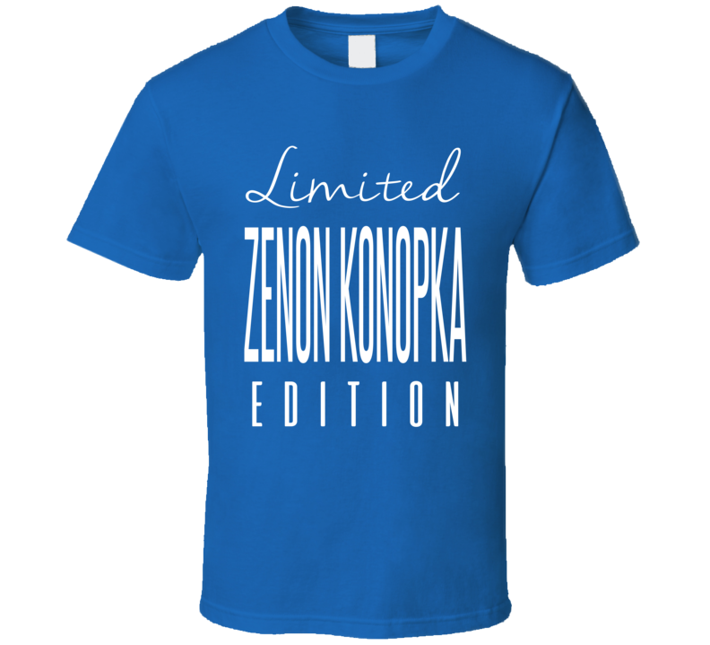 Zenon Konopka Limited Edition Tampa Bay Enforcer Hockey T Shirt