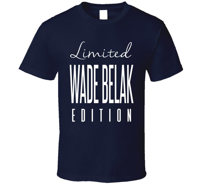 Wade Belak Limited Edition Toronto Enforcer Hockey T Shirt