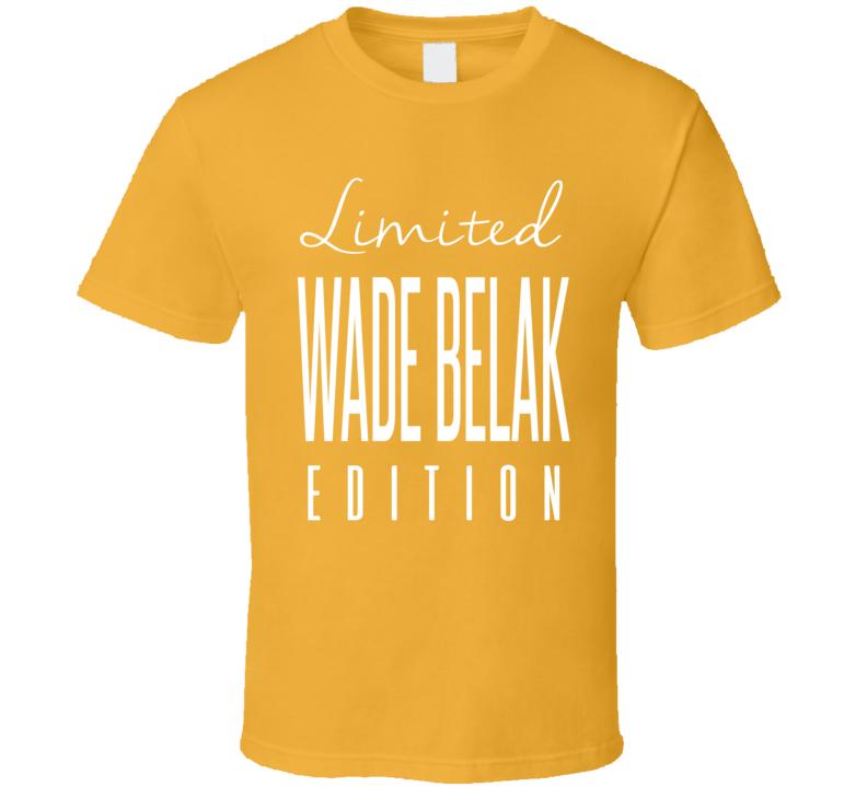 Wade Belak Limited Edition Nashville Enforcer Hockey T Shirt