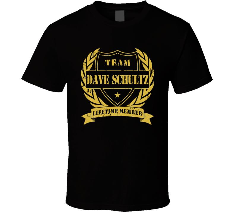 Dave Schultz Team Dave Schultz Lifetime Member Philadelphia Hockey T Shirt