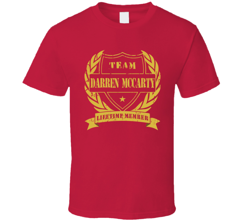 Darren McCarty Team Darren McCarty Lifetime Member Detroit Hockey T Shirt