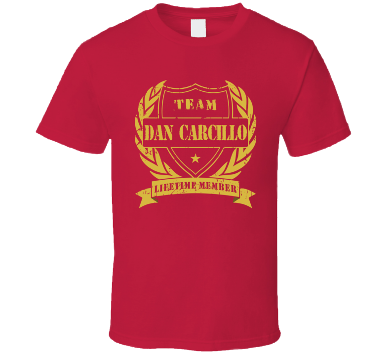 Dan Carcillo Team Dan Carcillo Lifetime Member Chicago Hockey T Shirt