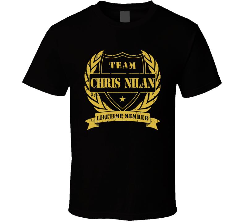 Chris Nilan Team Chris Nilan Lifetime Member Boston Hockey T Shirt