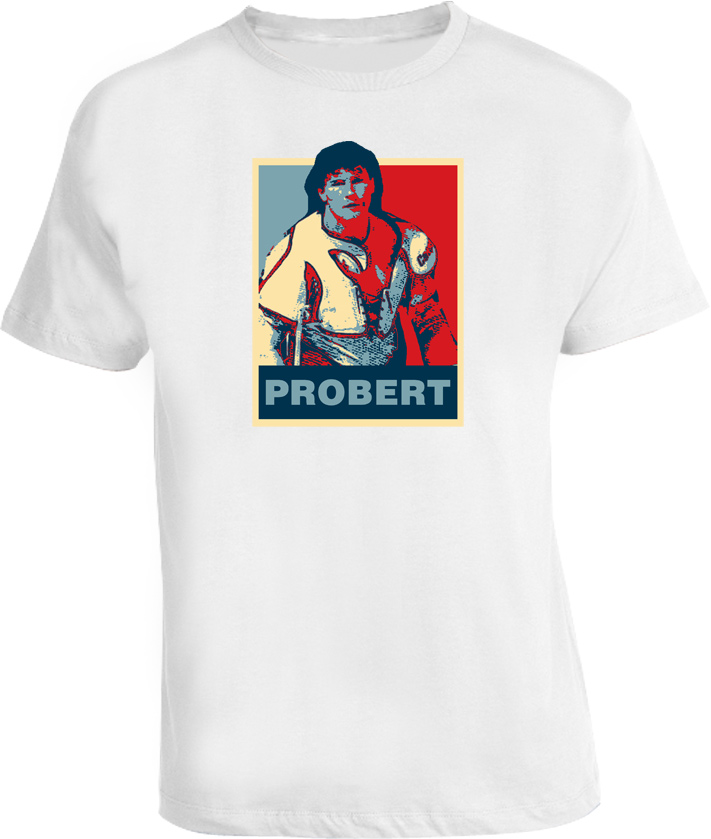 Bob Probert Hope Detroit Hockey T Shirt