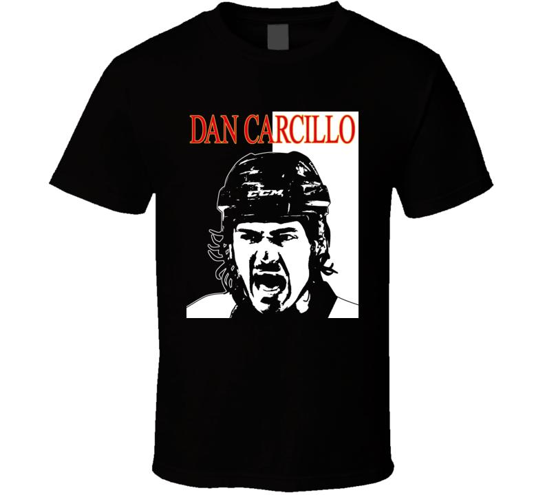 Dan Carcillo Carbomb Scarface Hockey T Shirt