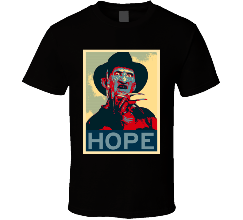 A Nightmare on Elm Street Horror Film Hope Poster T Shirt