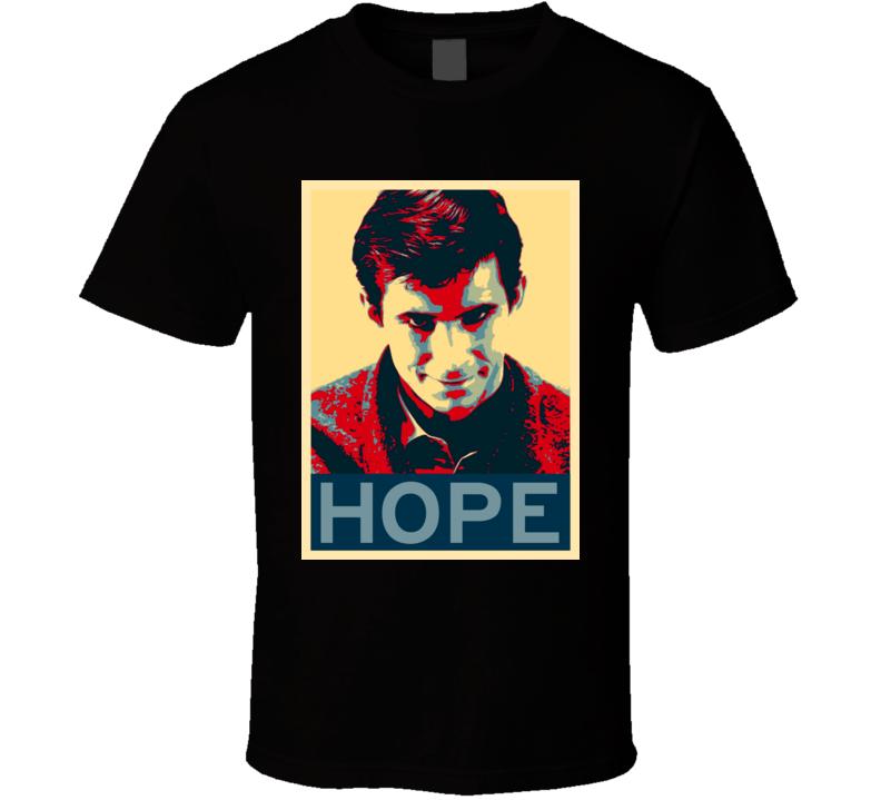 Psycho Horror Film Hope Poster T Shirt