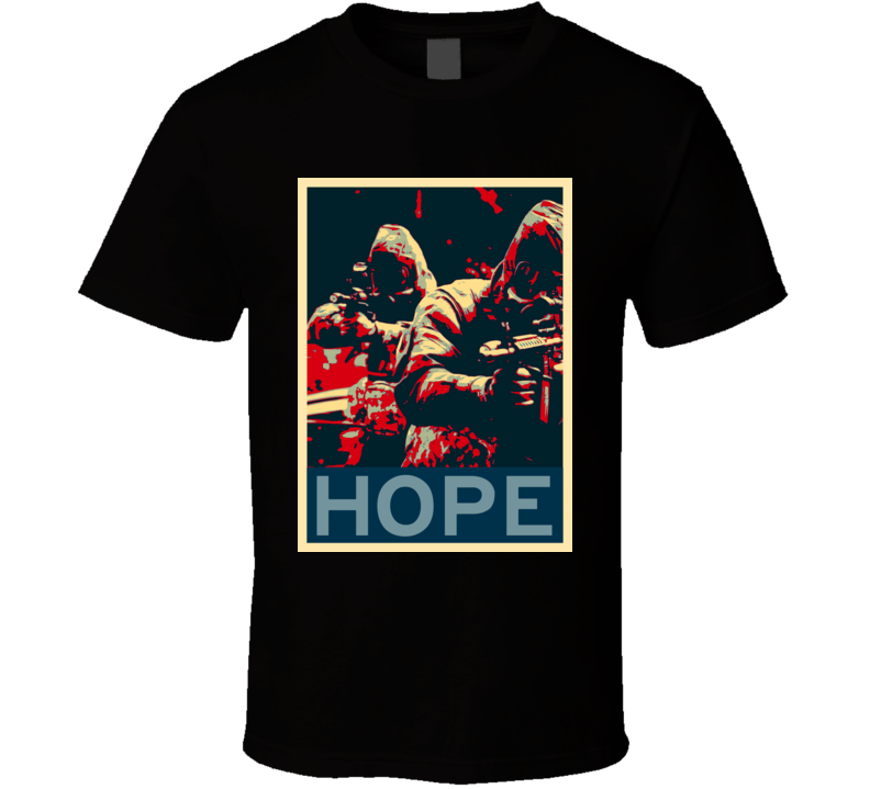 28 Weeks Later Horror Film Hope Poster T Shirt