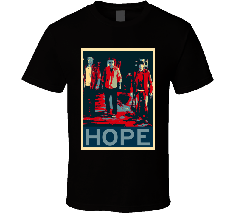 The Cabin in the Woods Horror Film Hope Poster T Shirt