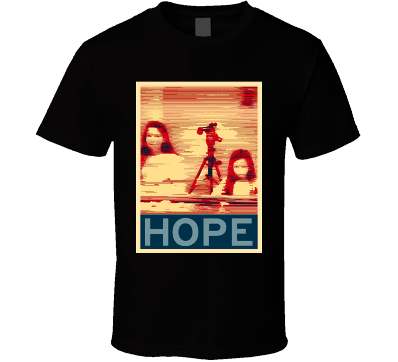 Paranormal Activity Horror Film Hope Poster T Shirt