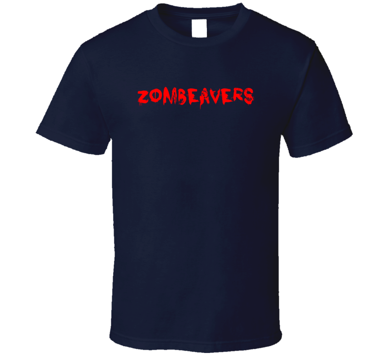 Zombeavers Horror Film Bloody T Shirt