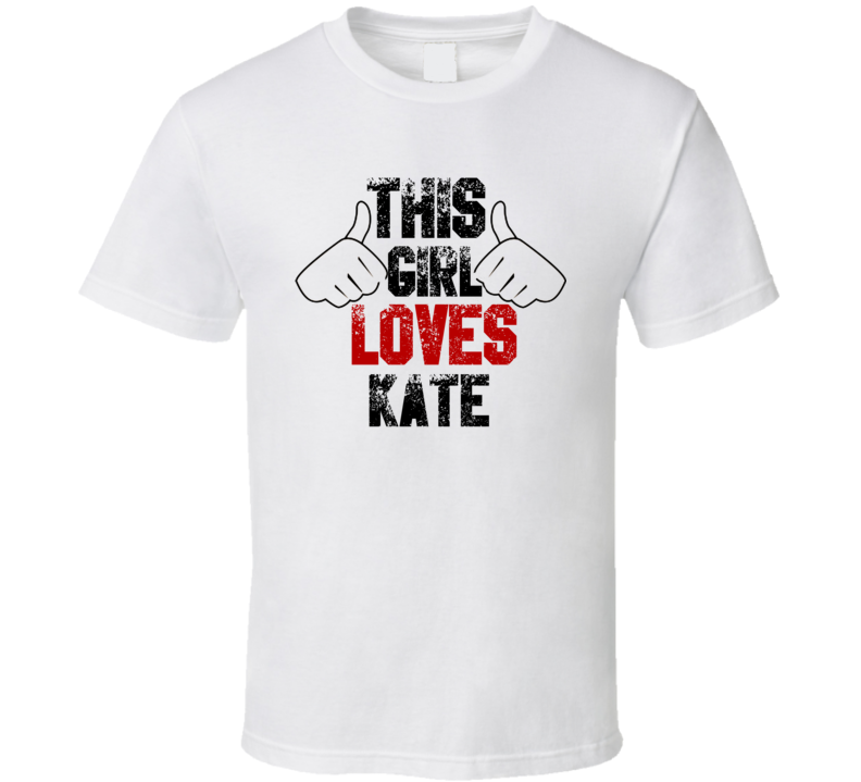 This Girl Loves Kate Stitches Horror Film T Shirt